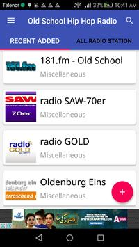 Old School Hip Hop Radio apk screenshot