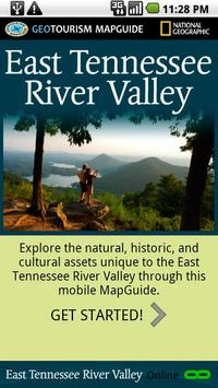 East Tennessee River Valley poster