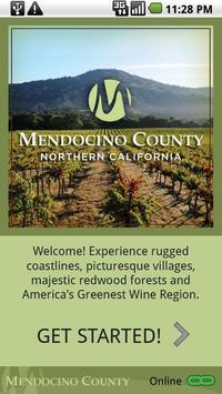 Mendocino County poster