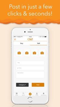 Olé! Student Marketplace apk screenshot