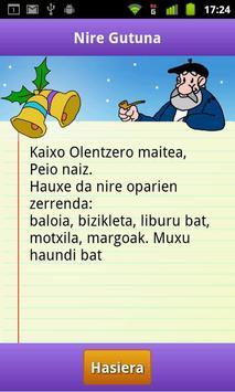 Olentzero gutuna screenshot 4