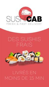 SushiCab - Livraison de sushis poster