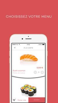 SushiCab - Livraison de sushis screenshot 2