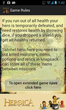 DICE Heroica apk screenshot