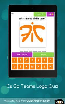 eSports Teams Logo Quiz apk screenshot