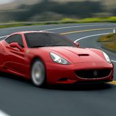 Jigsaw Puzzle Ferrari California icon