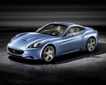 Jigsaw Puzzle Ferrari California screenshot 3