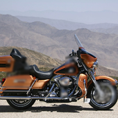 Jigsaw Puzzles Harley Davidson icon