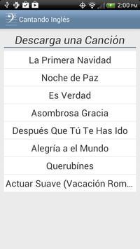 Cantando Inglés poster