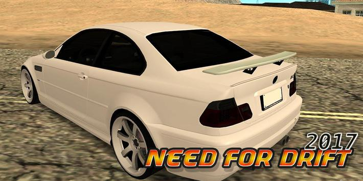 Need For Drift M3 2017 apk screenshot