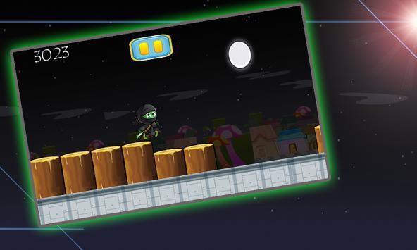 Ninja Frog Jumper screenshot 2