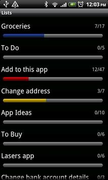 Lists (Free) screenshot 5