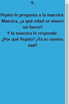 Chistes de Pepito screenshot 2