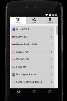 Radio USA screenshot 1