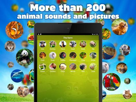 Animal Sounds & Images Free screenshot 2