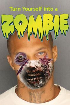 Zombie Maker Face poster