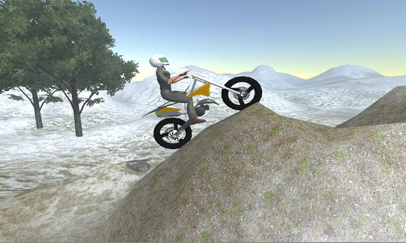 Hill Motorbike Game poster
