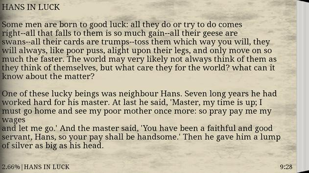 Grimms' Fairy Tales - EBook screenshot 3