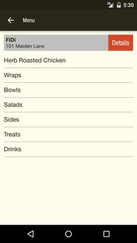Fields Good Chicken Ordering apk screenshot