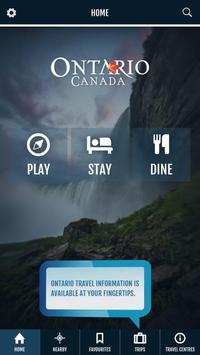 Discover Ontario poster