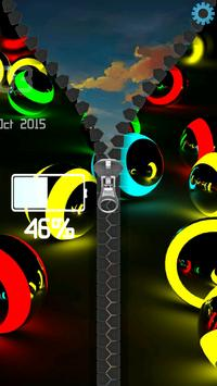 3D Colorful Balls Zipper screenshot 10