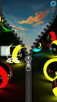 3D Colorful Balls Zipper screenshot 11