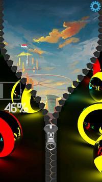3D Colorful Balls Zipper screenshot 20