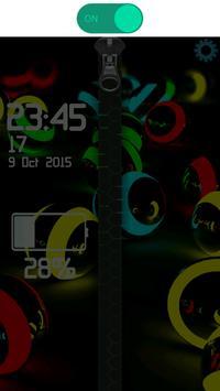 3D Colorful Balls Zipper screenshot 7