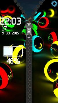 3D Colorful Balls Zipper screenshot 9