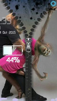Monkeys Romantic Zipper screenshot 10