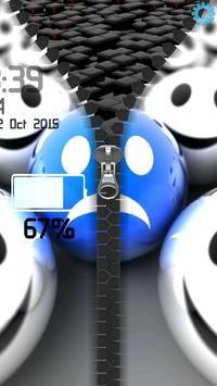 3D Smilies Zipper screenshot 10