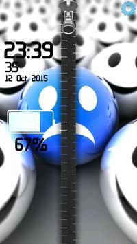 3D Smilies Zipper screenshot 16