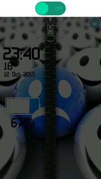 3D Smilies Zipper screenshot 30