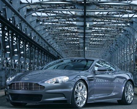 Wallpapers Aston Martin DBS poster