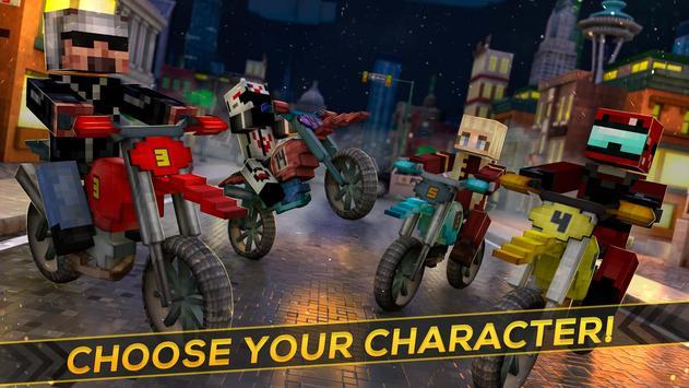 Craft Motor Bike Race apk screenshot