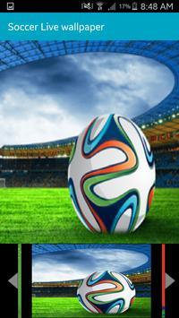 Football Live Wallpaper HD apk screenshot