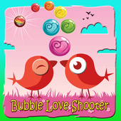 bubble love shooter valentine icon