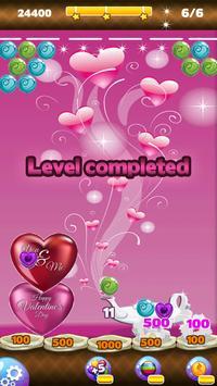 bubble love shooter valentine apk screenshot