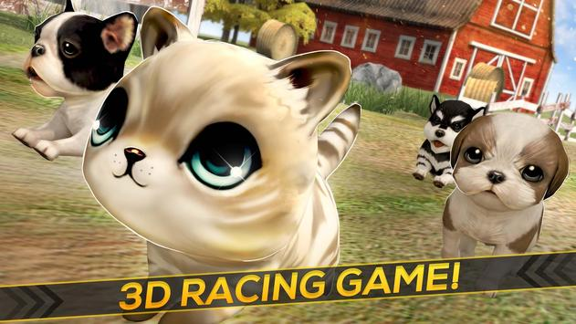 Puppies Kitties And Dogs Race For Android Apk Download