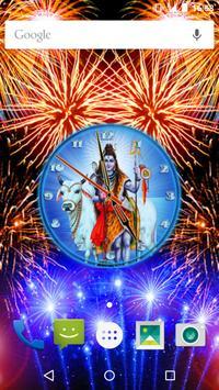 Lord Shiva Clock apk screenshot