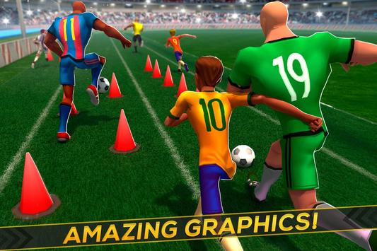Soccer Training ⚽ Free Game スクリーンショット 1