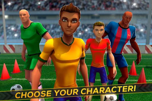 Soccer Training ⚽ Free Game スクリーンショット 2