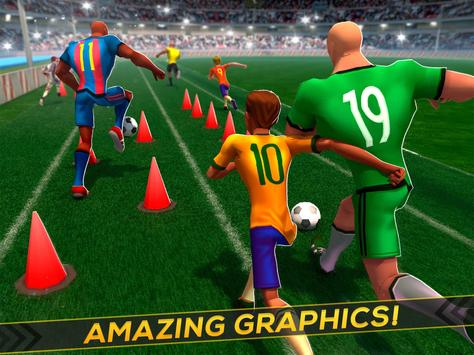 Soccer Training ⚽ Free Game スクリーンショット 4