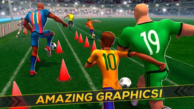 Soccer Training ⚽ Free Game スクリーンショット 7
