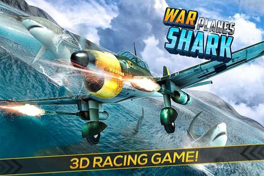 War Planes Shark Attack poster