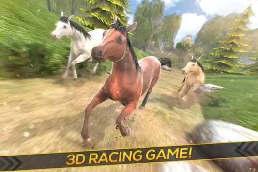 Wild Horses Race Field poster