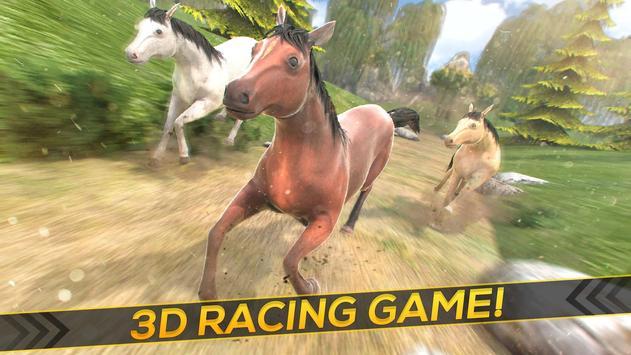 Wild Horses Race Field apk screenshot