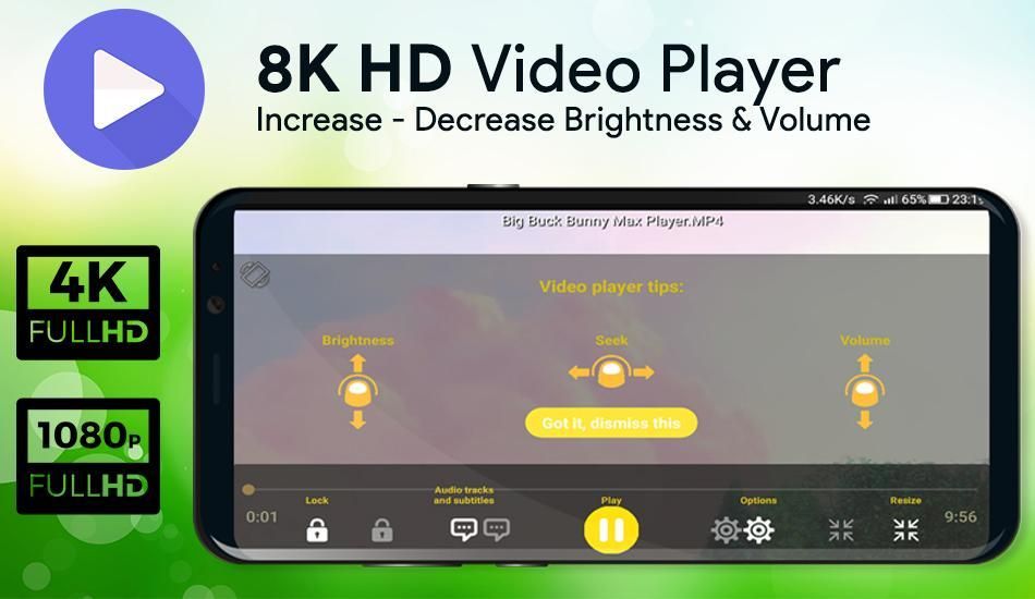 8K MX Video Player FREE for Android - APK Download