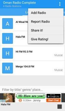 Oman Radio Complete apk screenshot