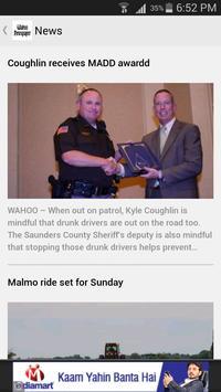 Wahoo Newspaper screenshot 1